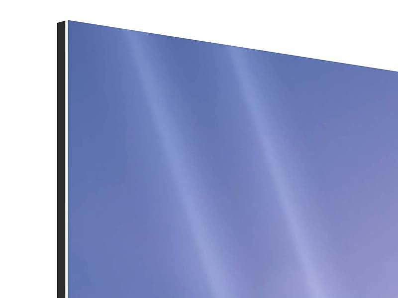 Aluminiumbild 5-teilig Sonnenaufgang beim Mount Everest