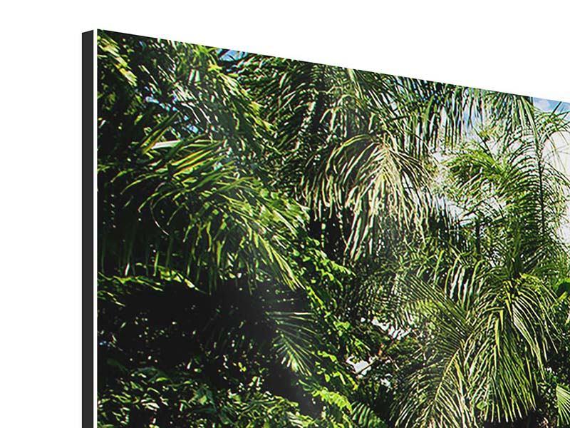 Aluminiumbild 5-teilig Lagune