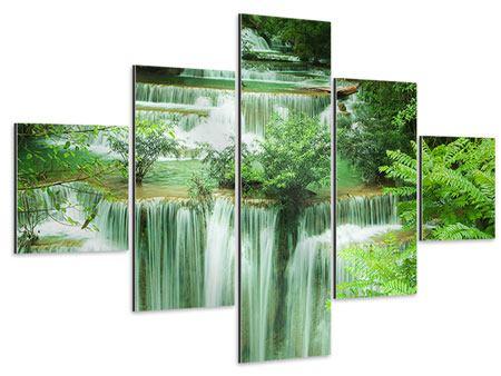 Aluminiumbild 5-teilig 7 Stufen in Thailand