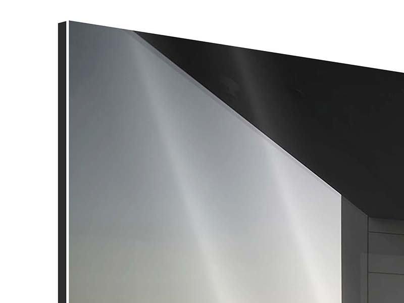 Aluminiumbild 5-teilig Balkon in Dubai