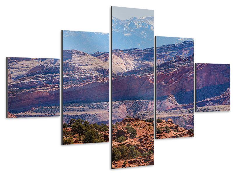Aluminiumbild 5-teilig Bruce-Canyon-Nationalpark