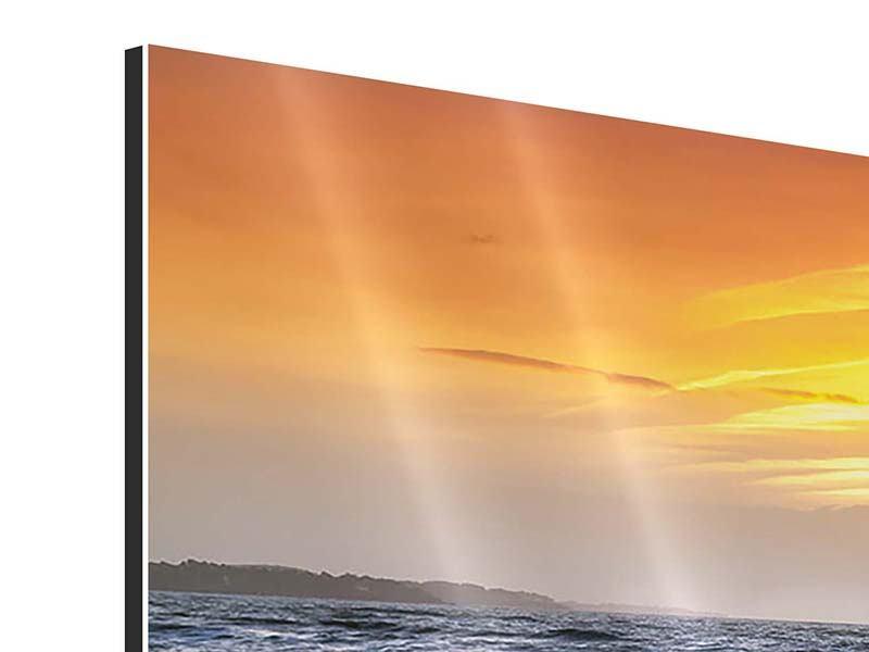 Aluminiumbild 5-teilig Das Meer