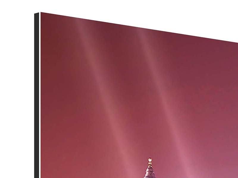 Aluminiumbild 5-teilig modern Millennium Bridge