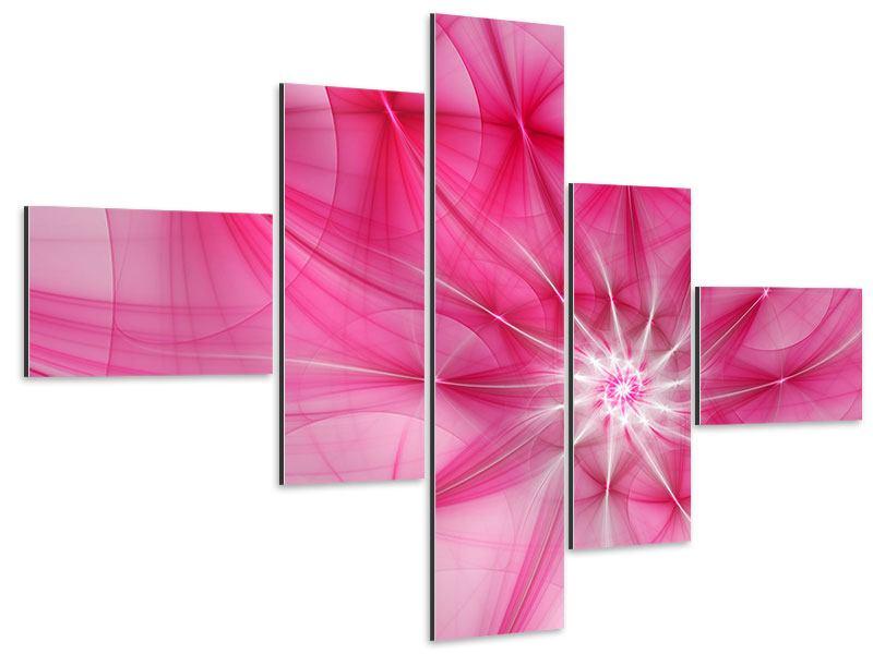 Aluminiumbild 5-teilig modern Abstrakt Daylight