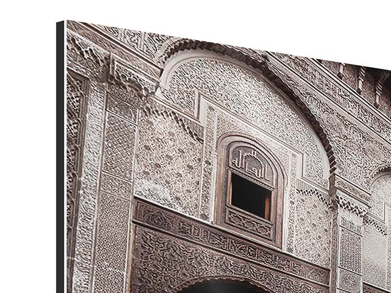 Aluminiumbild 5-teilig modern Orientalischer Hinterhof