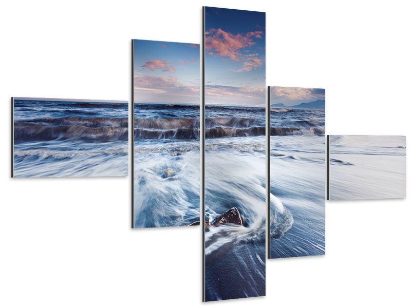 Aluminiumbild 5-teilig modern Ort der Sehnsucht