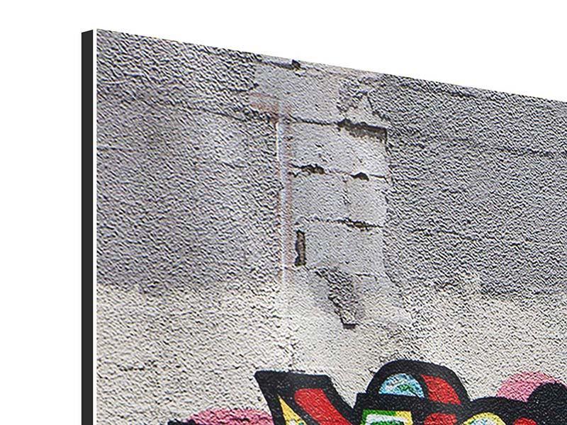 Aluminiumbild 5-teilig modern Graffiti in New York