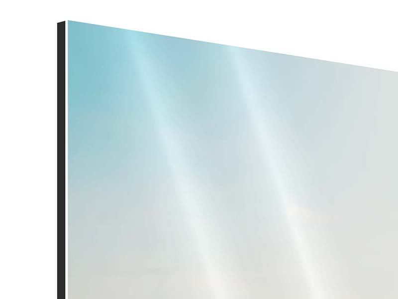 Aluminiumbild 5-teilig modern NYC