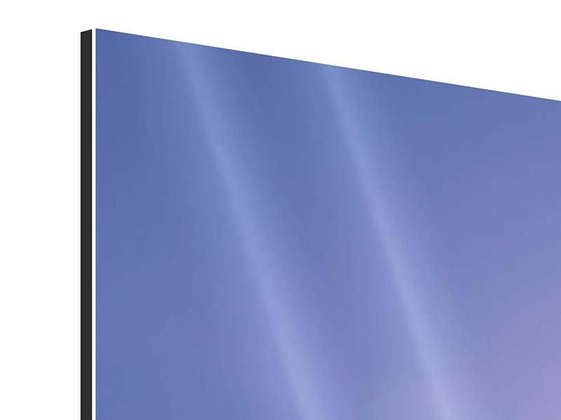 Aluminiumbild 5-teilig modern Sonnenaufgang beim Mount Everest