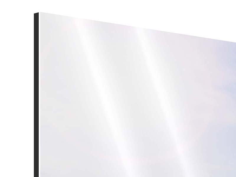 Aluminiumbild 5-teilig modern Das schöne Strandhaus