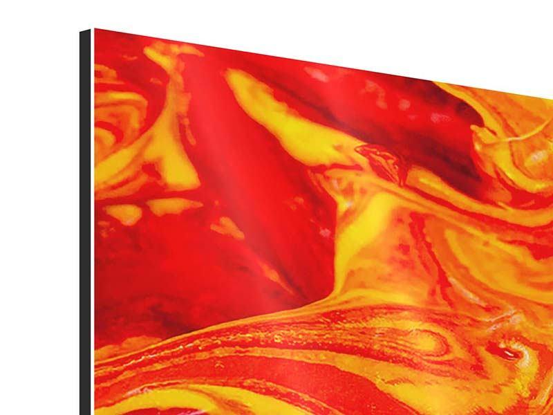 Aluminiumbild 5-teilig modern Wandgemälde