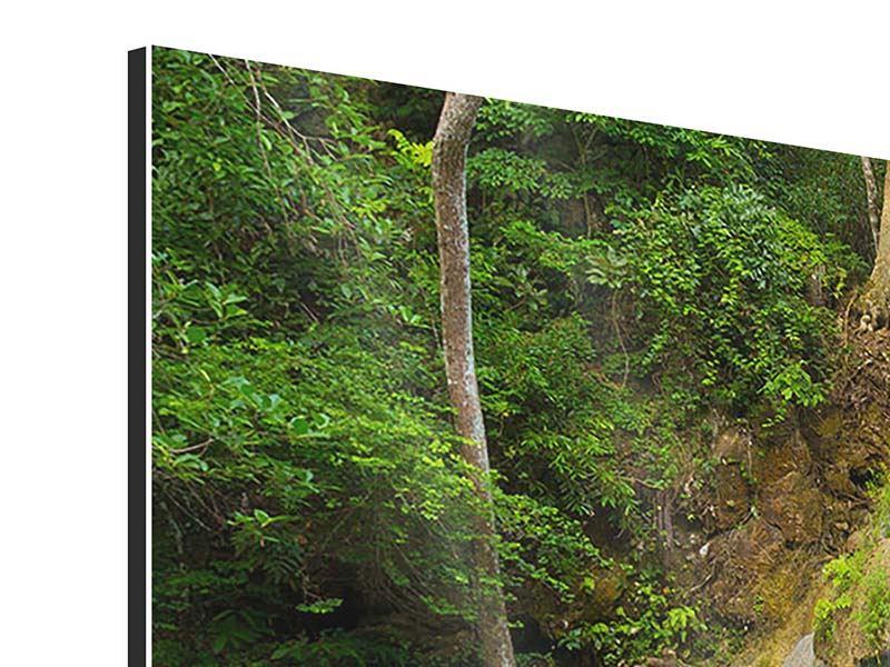 Aluminiumbild 5-teilig modern Frische Brise