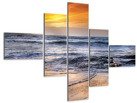 Aluminiumbild 5-teilig modern Das Meer