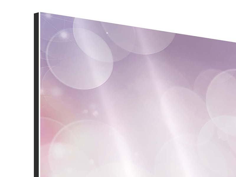 Aluminiumbild 9-teilig Märchenrosen