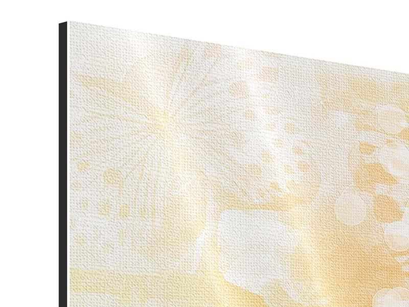 Aluminiumbild 9-teilig Romantische Schmetterlinge