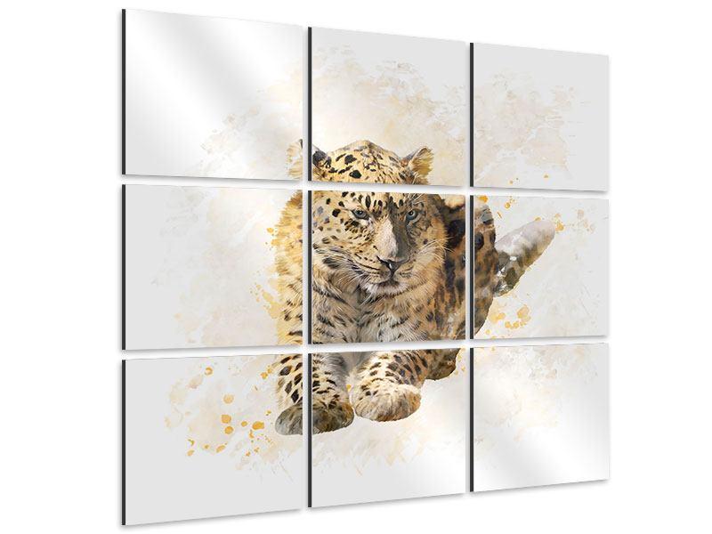 Aluminiumbild 9-teilig Luxgemälde