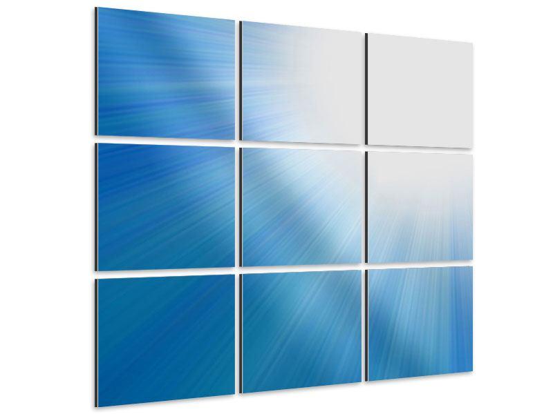 Aluminiumbild 9-teilig Der Himmel