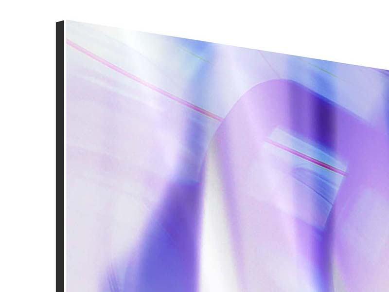 Aluminiumbild 9-teilig Abstrakte Sicht
