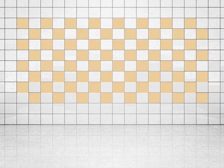 Tile Decor Cream (A719-01) Set of 20