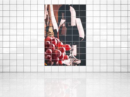 Carrelage Autocollant Fliesenbild carrelage autocollant sticker pause café cuisine image