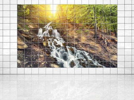 Tile Print Natural Beauty