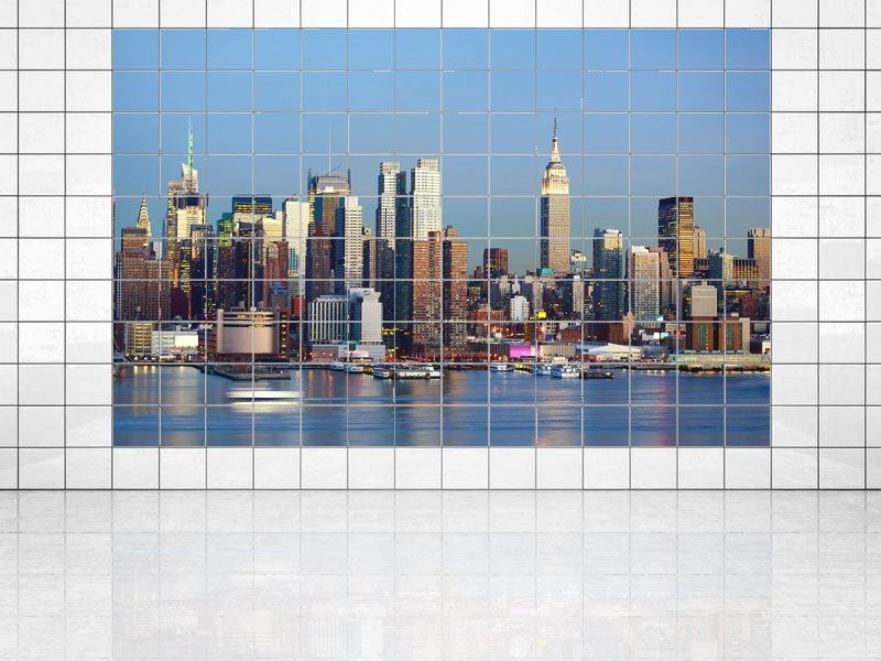 Fliesenbild Skyline Midtown Manhattan
