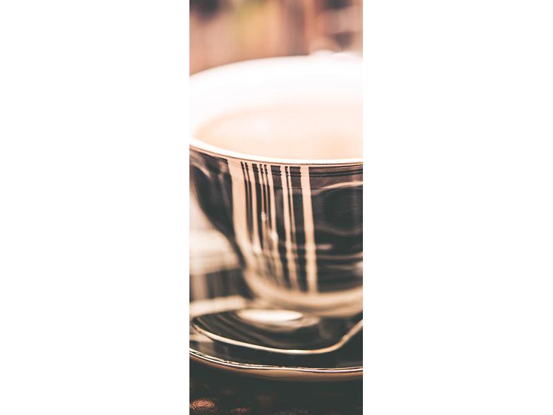 Türtapete Der Kaffee ist fertig