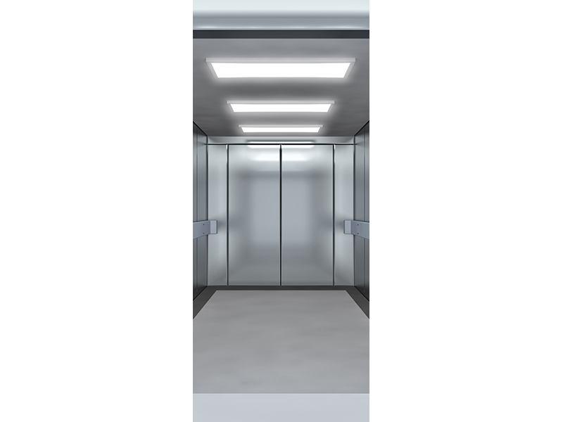Türtapete Aufzug
