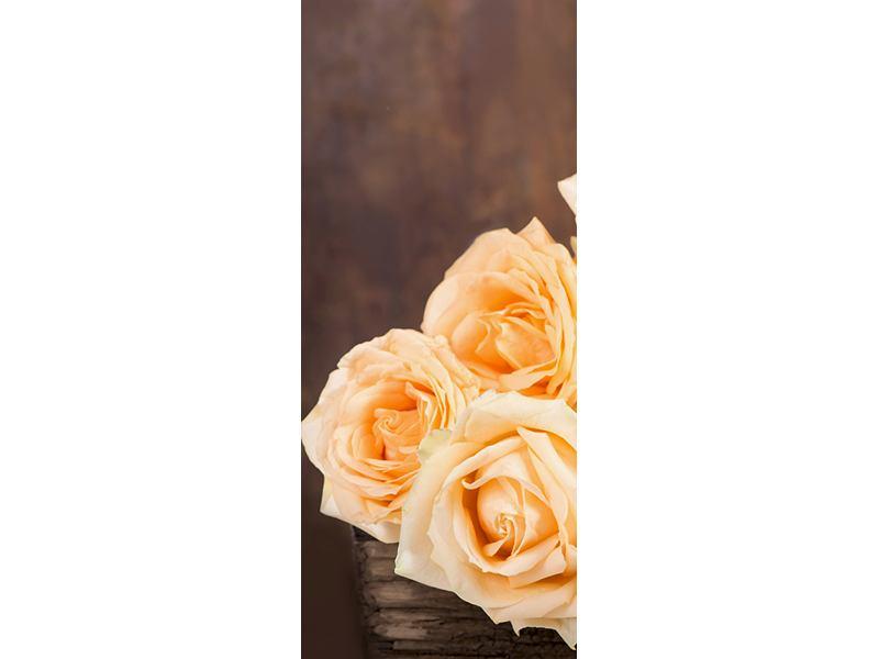 Türtapete Die Rosenzeit