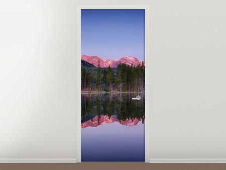Türtapete Sprague Lake-Rocky Mountains