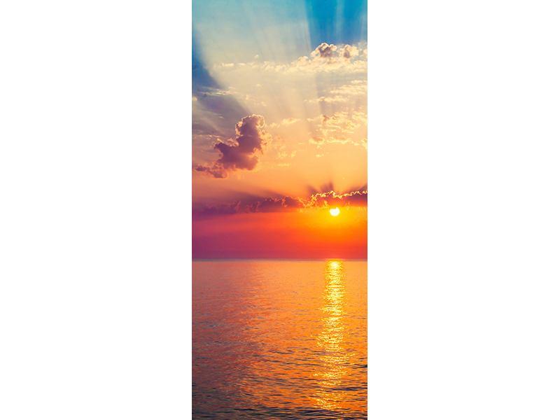 Türtapete Mystischer Sonnenaufgang