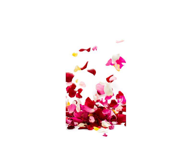 Türtapete Auf Rosenblätter gebettet