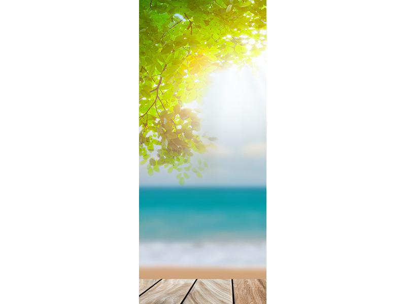 Türtapete Strandterrasse