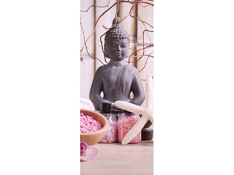 Türtapete Spa + Buddha