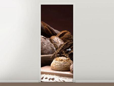 Türtapete Brotbäckerei