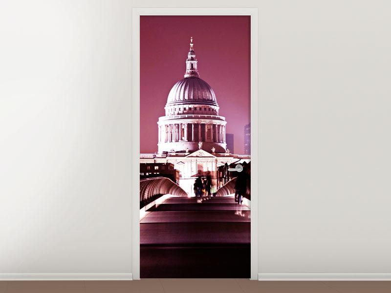 Türtapete Millennium Bridge