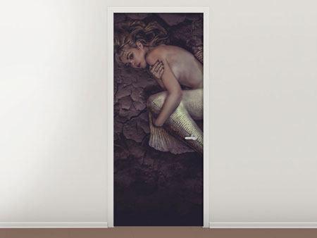 Türtapete Meerjungfrau