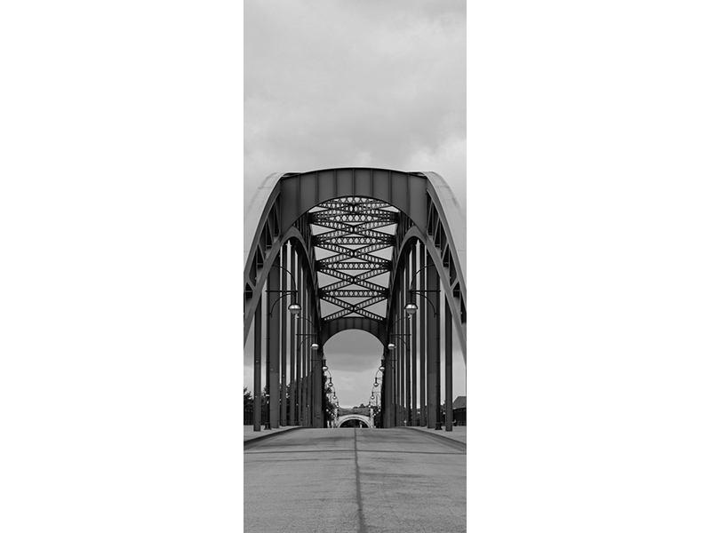 Türtapete Poetische Brücke