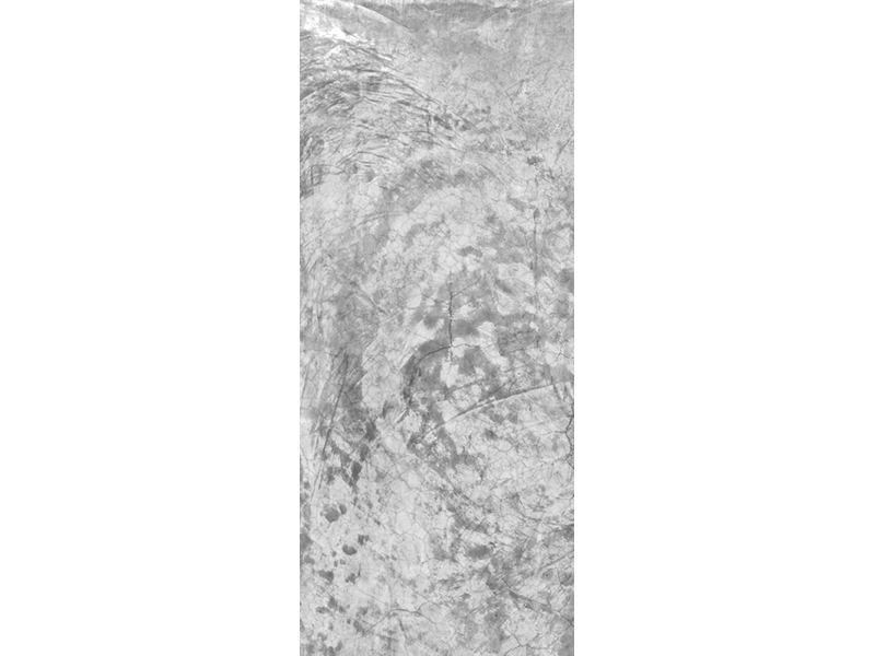 Türtapete Wischtechnik in Grau