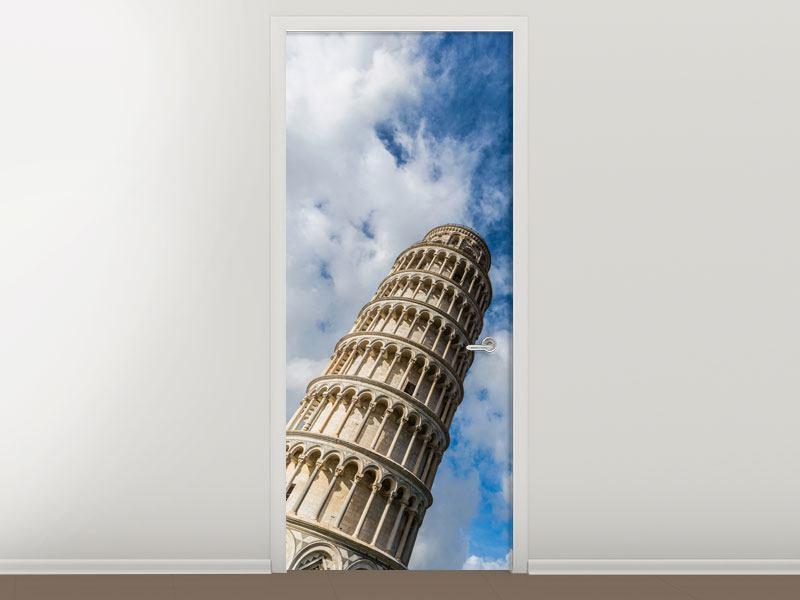 Türtapete Der Tum von Pisa