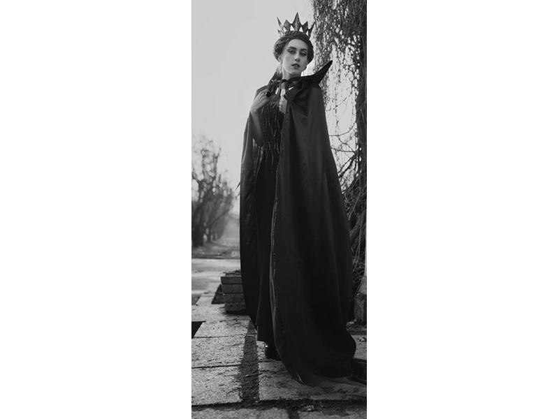 Türtapete Die Königin