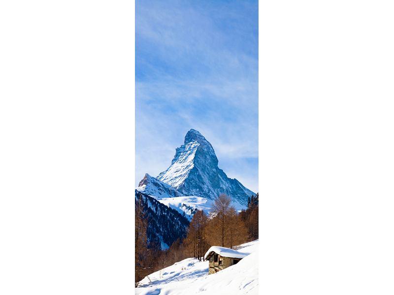 Türtapete Das Matterhorn