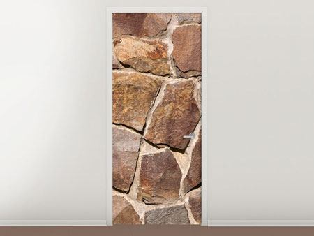 Türtapete Designmauer