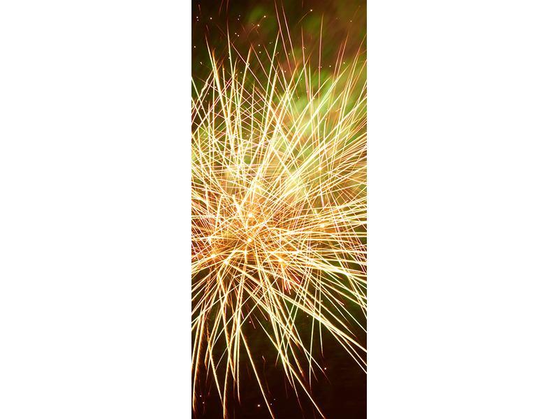 Türtapete Feuerwerk XXL