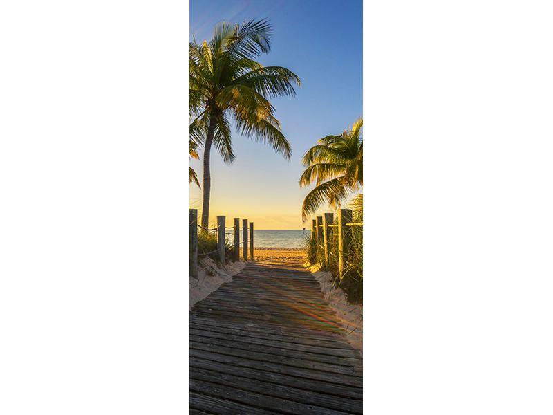 Türtapete Das Strandhaus