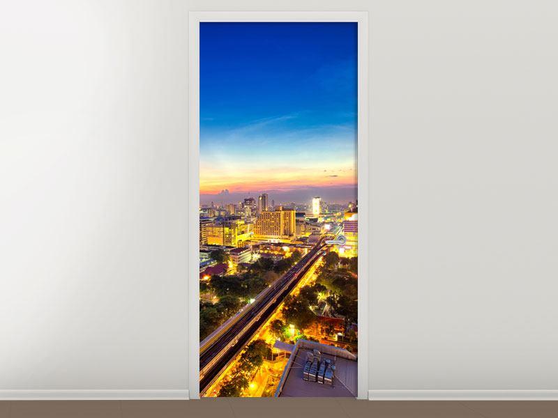 Türtapete Bangkok