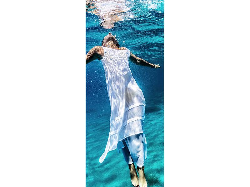 Türtapete Schönheit unter Wasser