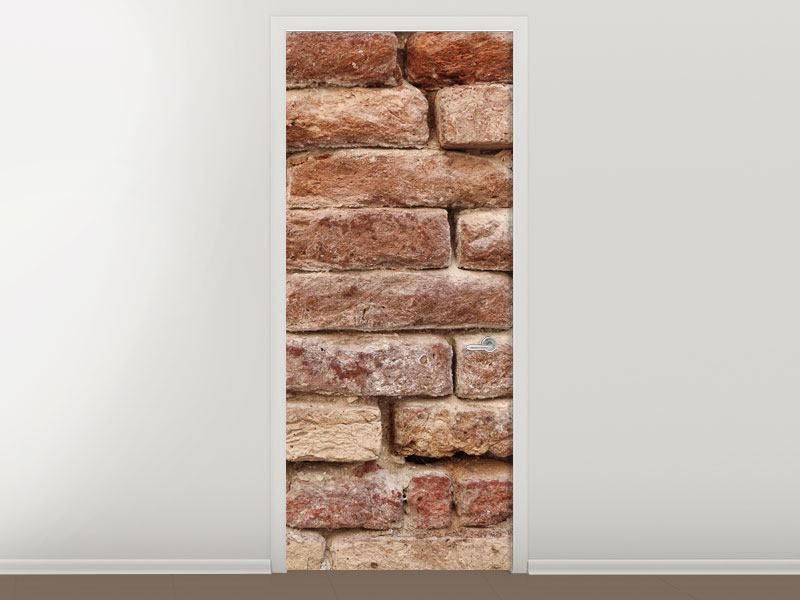 Türtapete Loft-Mauer