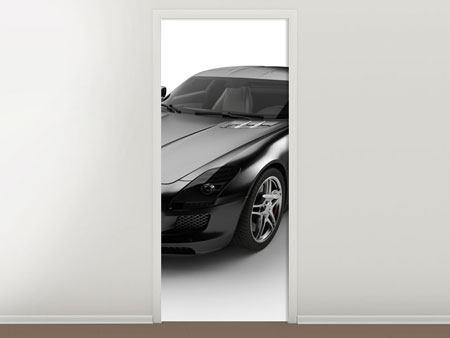 Türtapete 007 Auto