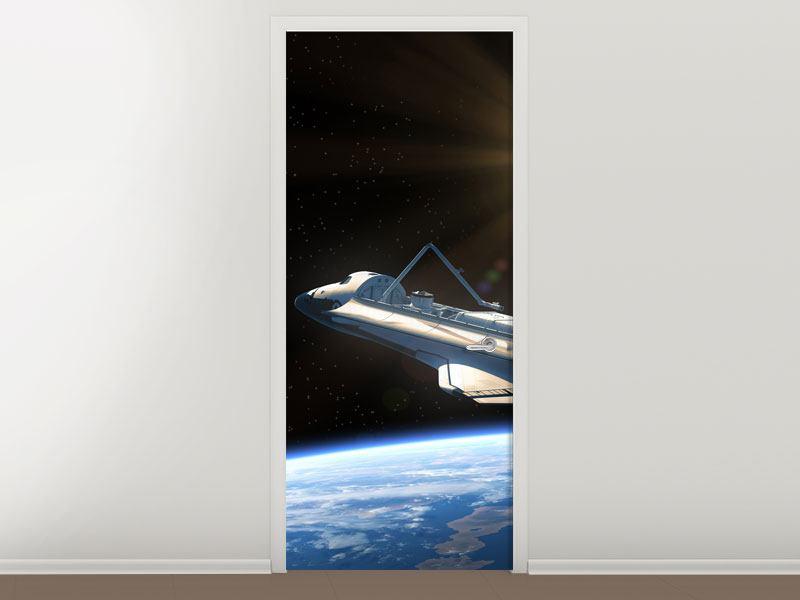 Türtapete Das Raumschiff